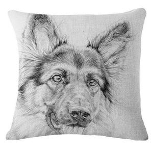 Pillow Cover- NEW- German Shepherd Dog-